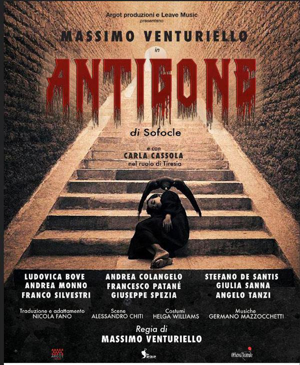 """Massimo Venturiello dirige """"Antigone"""" di Sofocle giovedì 2 agosto nello splendido Castello di Santa Severa"""