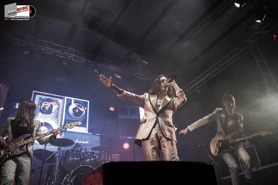 Måneskin Live ESTRAGON CLUB 17 Novembre 2018 - Bologna. Foto gallery di Fabio Spagnoletto