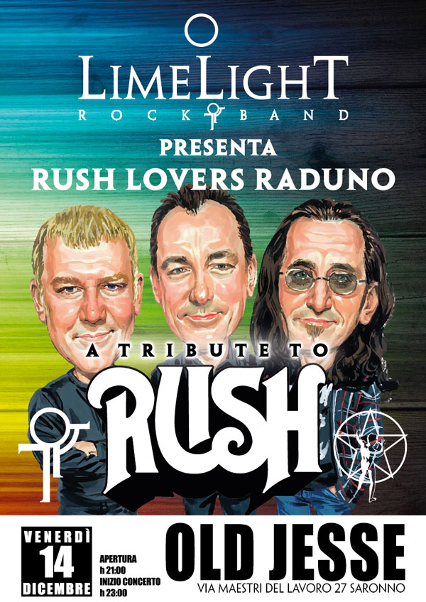 Rush Lovers Raduno 14/12/2018 @ The Old Jesse Saronno (MI)