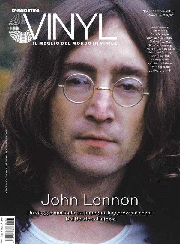 DE AGOSTINI VINYL: da domani in edicola il numero di dicembre del magazine, con un'esclusiva cover story dedicata a JOHN LENNON
