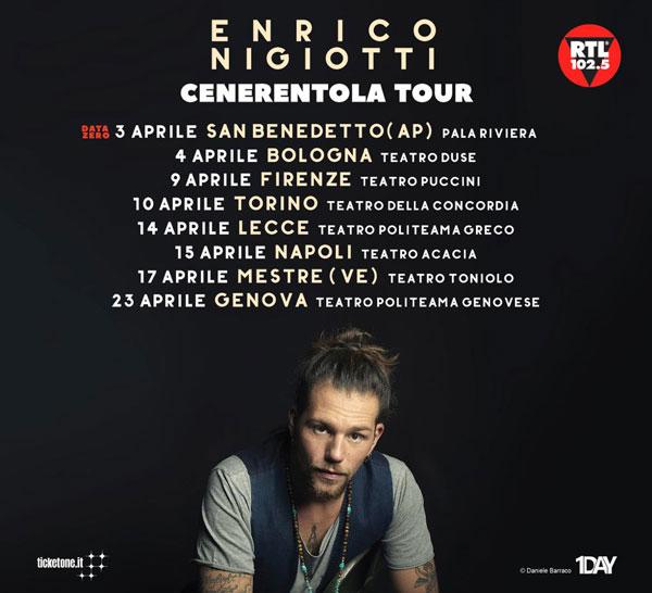 """ENRICO NIGIOTTI: al via da aprile il tour teatrale """"CENERENTOLA TOUR"""". Scopri le date!"""