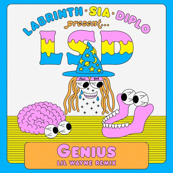 "LSD torna in radio con ""GENIUS (LIL WAYNE REMIX)"" da venerdì 22 febbraio"