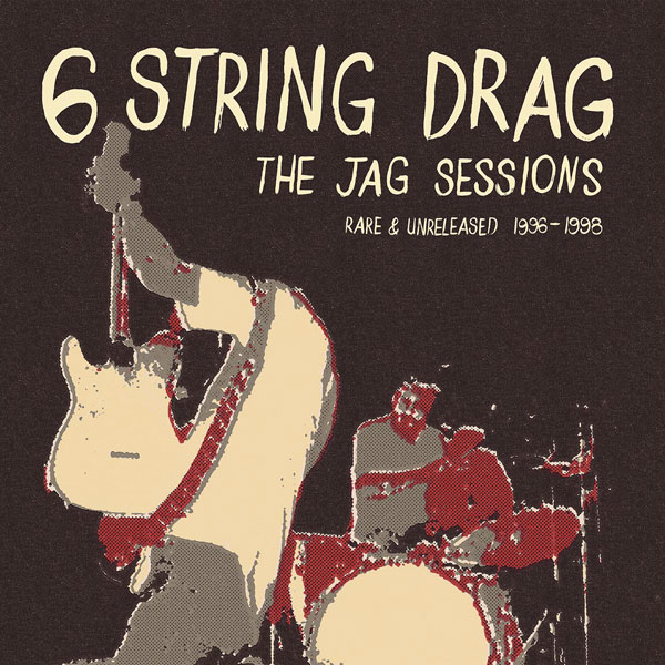 'The Jag Sessions' by Americana pioneers Kenny Roby & 6 String Drag on vinyl for Record Store Day