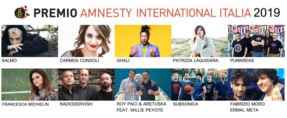 Premio Amnesty International Italia: Ermal Meta e Jovanotti