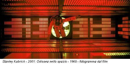 Stanley Kubrick - 2001: Odissea nello spazio - 1968 - fotogramma dal film