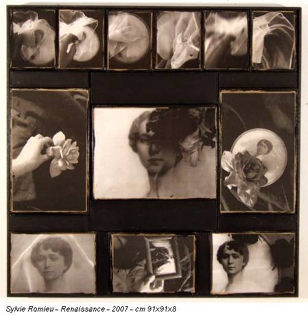 Sylvie Romieu - Renaissance - 2007 - cm 91x91x8