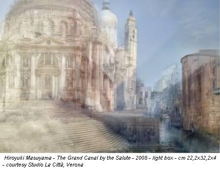 Hiroyuki Masuyama - The Grand Canal by the Salute - 2008 - light box - cm 22,2x32,2x4 - courtesy Studio La Città, Verona