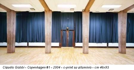 Claudio Gobbi - Copenhagen #1 - 2004 - c-print su alluminio - cm 46x93