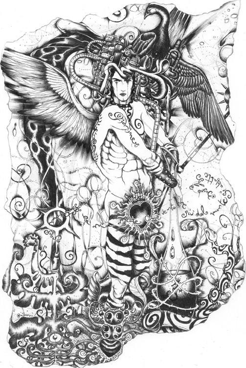 Giancarlo Giovine - Tra ali e tattoo