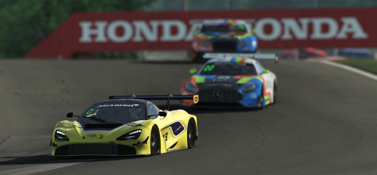 rFactor 2 – GT3 League – Exiled Virtual Motorsports