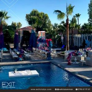 The Pool Venue Setup 1