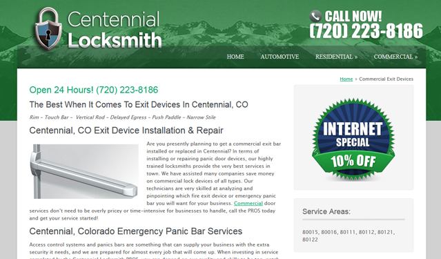 centennial-exit-device-web-page