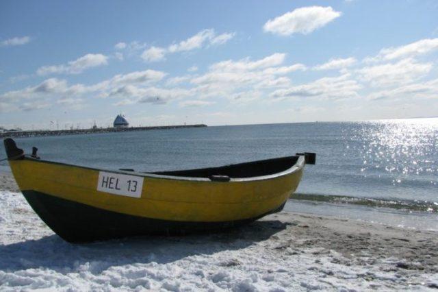 wyjazd nad morze zimą
