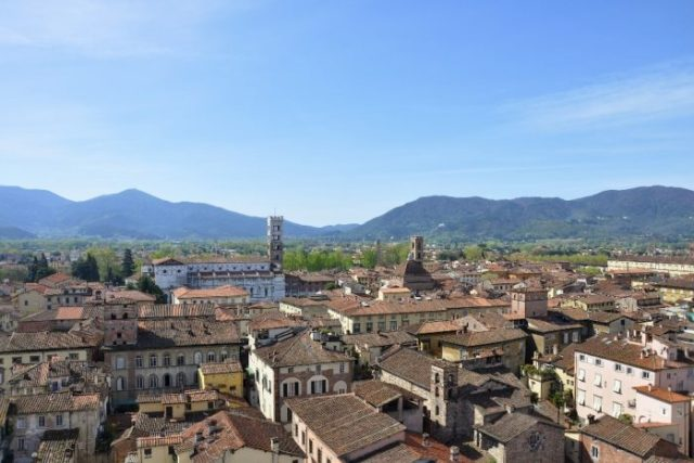 Lucca, miasto Toskanii