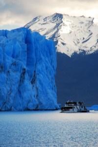 Boat vs. Glacier