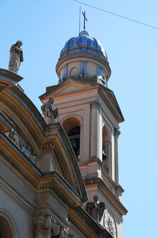 Detail einer Kirche in der Altstadt