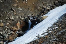 Gletscher Detail