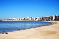 Pocitos Strand bei Tag...