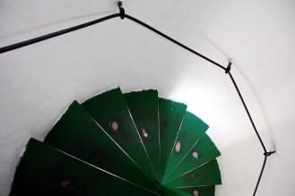 Treppe im Leuchturm
