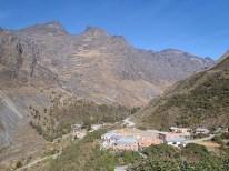 Ein Dorf im Tal