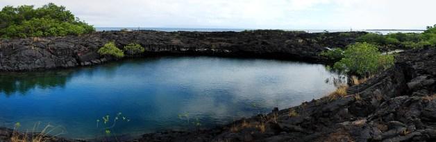 Elizabeth Bay - Isla Isabela Panorama