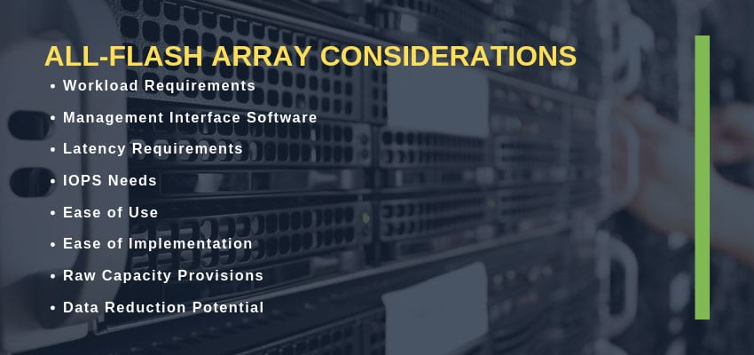 best all flash array 2019