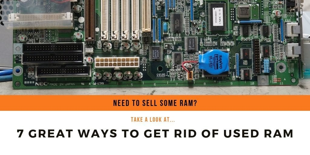 best ways to sell ram