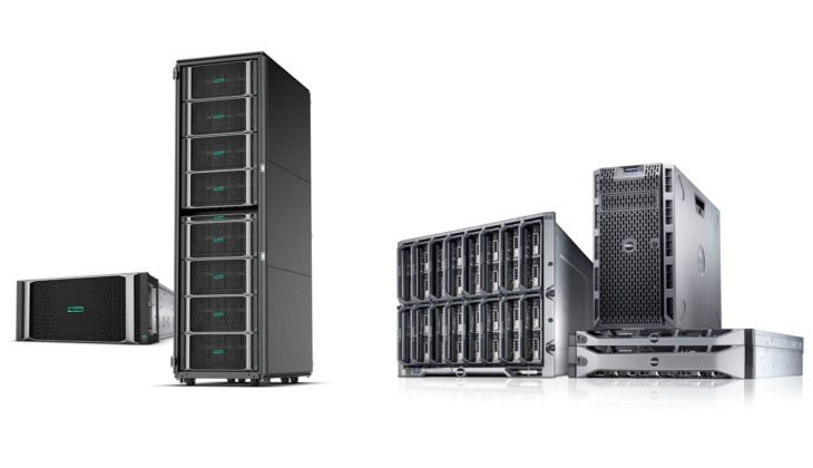 dell emc vs hpe servers for server buyback and sale
