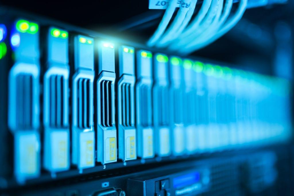 Offsite data back up hardware.