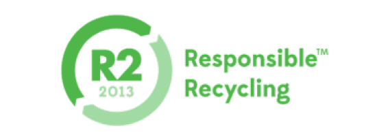 exIT Technologies is R2 recycling certified.