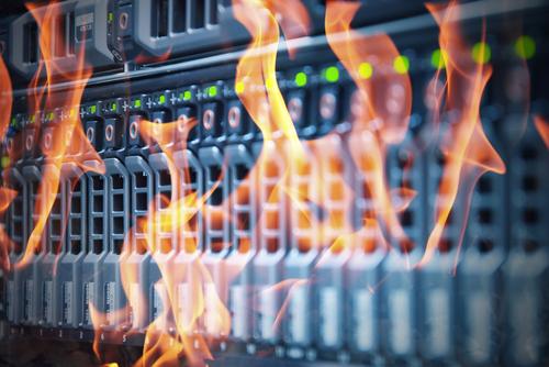 Disaster during data center migration