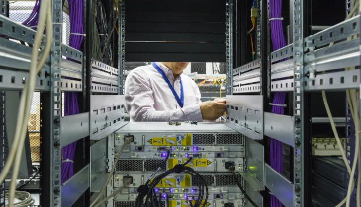 data center disposal of server racks