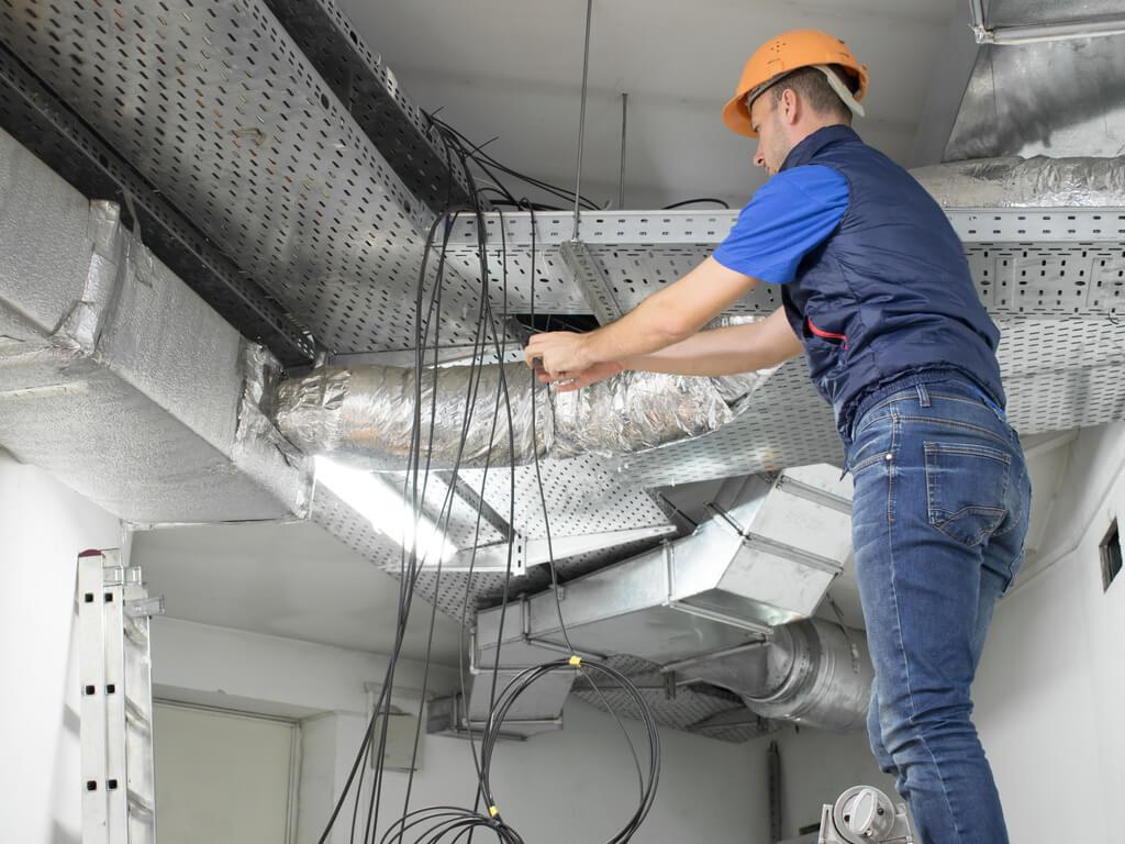teardown of data center infrastructure