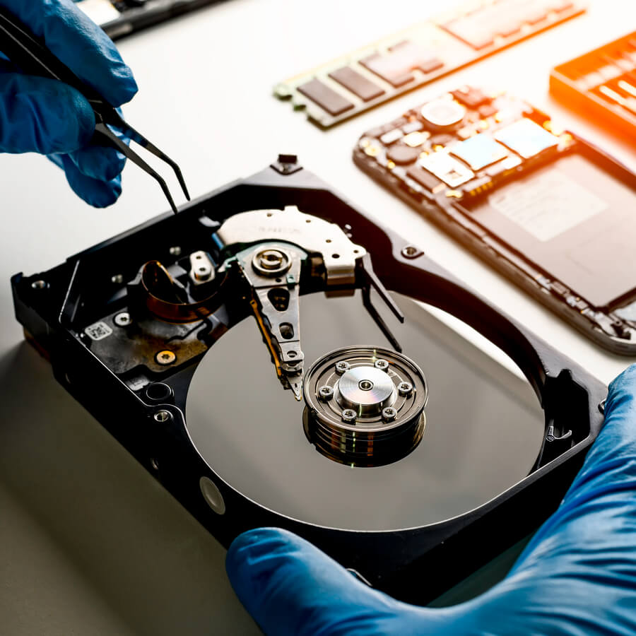 data recovery from hard drive ITAD