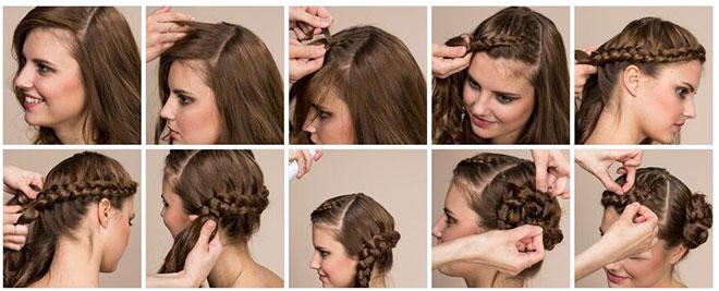 Frisuren Stil Haar Kreative Oktoberfest Frisuren Trendige