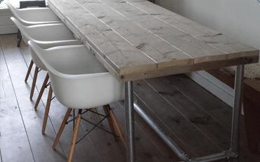 chic sofa set repair of leather bauholz design möbel von exklusiv dutch