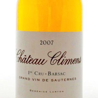 Climens 2007, Barsac. Weltbekannter Süsswein aus dem Bordeaux