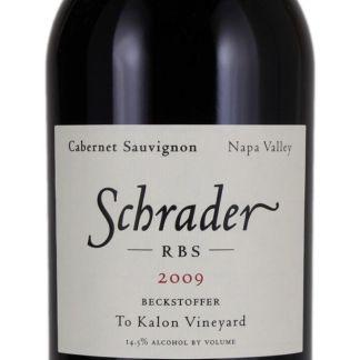Schrader RBS 2009, Schrader Cellars, Napa Valley