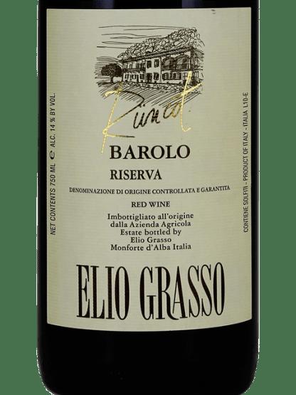 Elio Grasso Barolo Rüncot Riserva 2013