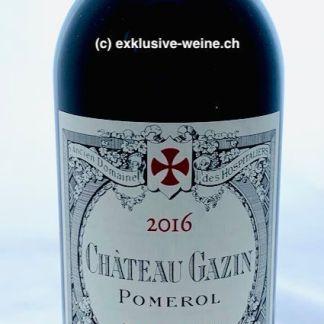 Chateau Gazin 2016, Pomerol, Bordeaux