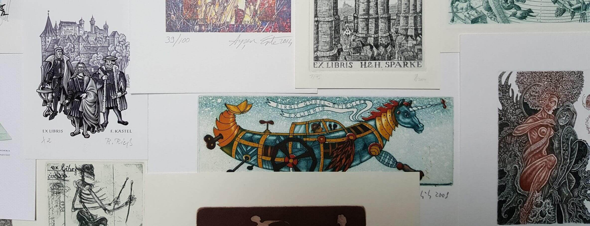Website Bild Künstler+Archiv(e) - Künstler 1 Künstler-Galerien