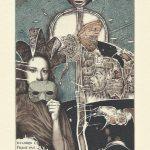 Exlibris des Monats Februar 2021 – Hristo Naidenov: Masken