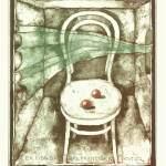 Exlibris des Monats März 2021 – Vladimír Suchánek: Ein Stuhl