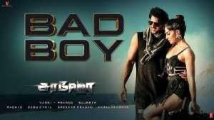 Bad Boy Song Lyrics - Saaho