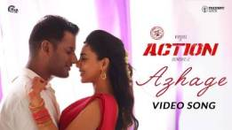 Azhage Song Lyrics - Action