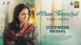 Vaan Thooralgal Song Lyrics - Pon Magal Vandhal
