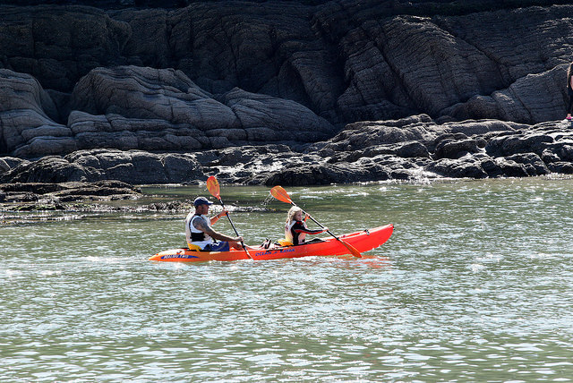 Sea Canoeing, Combe Martin