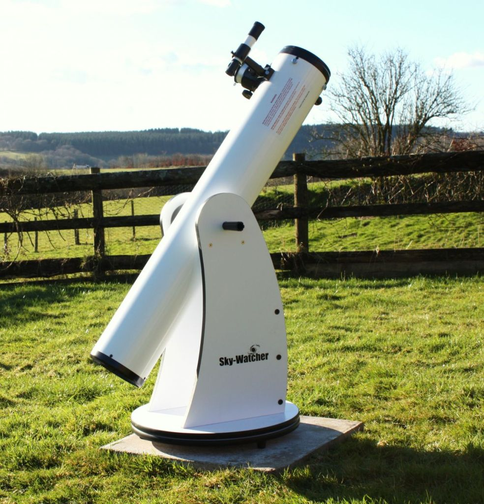 6 inch, reflecting Telescope - available for hire at West Withy Farm