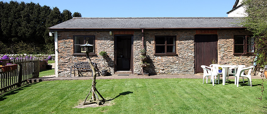 Stable Cottage, West Withy Farm, self catering cottage on Exmoor
