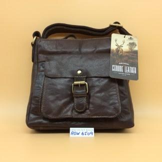 Rowallan Leather Bag. 6509 Bronco Brown.